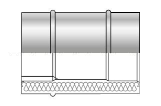Rura kwasoodporna izolowana dwuścienna wkład kwasoodporny komin