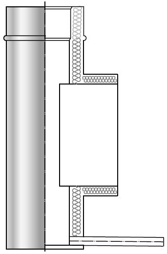 Wyczystka kwasoodporna izolowana dwuścienna wkład kwasoodporny komin