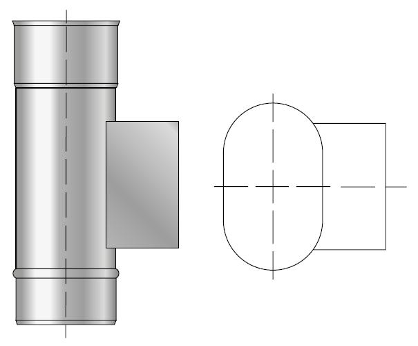 Wyczystka kwasoodporna owalna wkład kwasoodporny komin