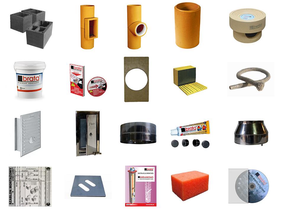 Brata Premium komin ceramiczny system kominowy