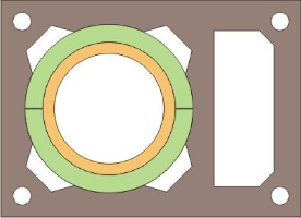 Brata Uniwersal komin ceramiczny system kominowy