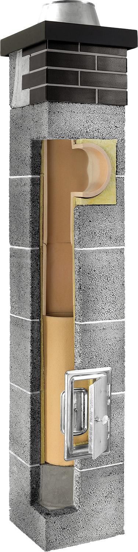Plewa Osmose Kamino komin ceramiczny system kominowy