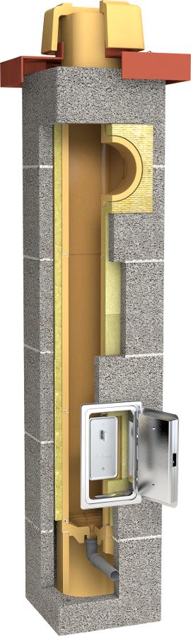 Plewa Uni Fu komin ceramiczny system kominowy