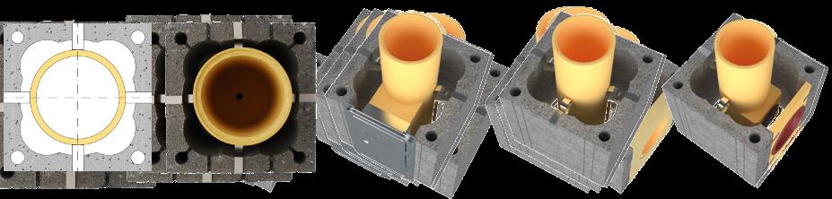Presto Magnus komin ceramiczny system kominowy