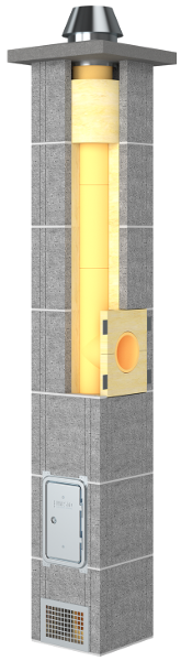 Presto Universus komin ceramiczny system kominowy