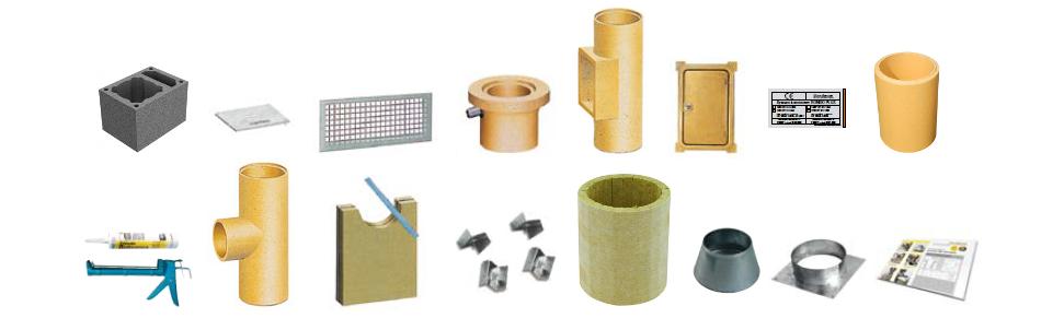 Schiedel Rondo Plus komin ceramiczny system kominowy