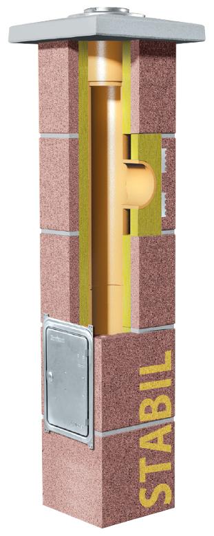 Schiedel Stabil komin ceramiczny system kominowy