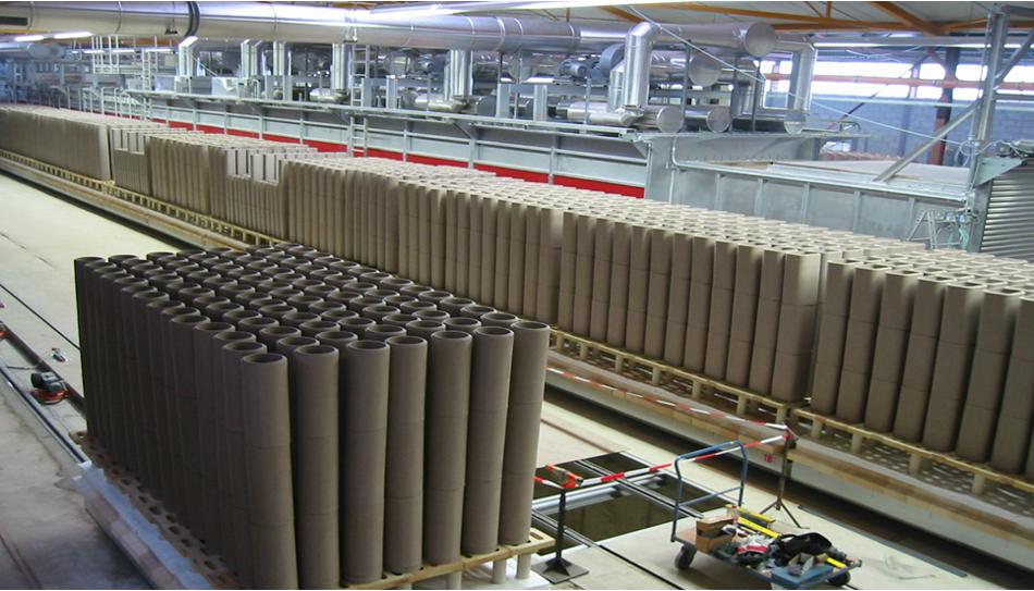 Tona komin ceramiczny system kominowy