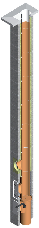 Tona Tec Iso komin ceramiczny system kominowy