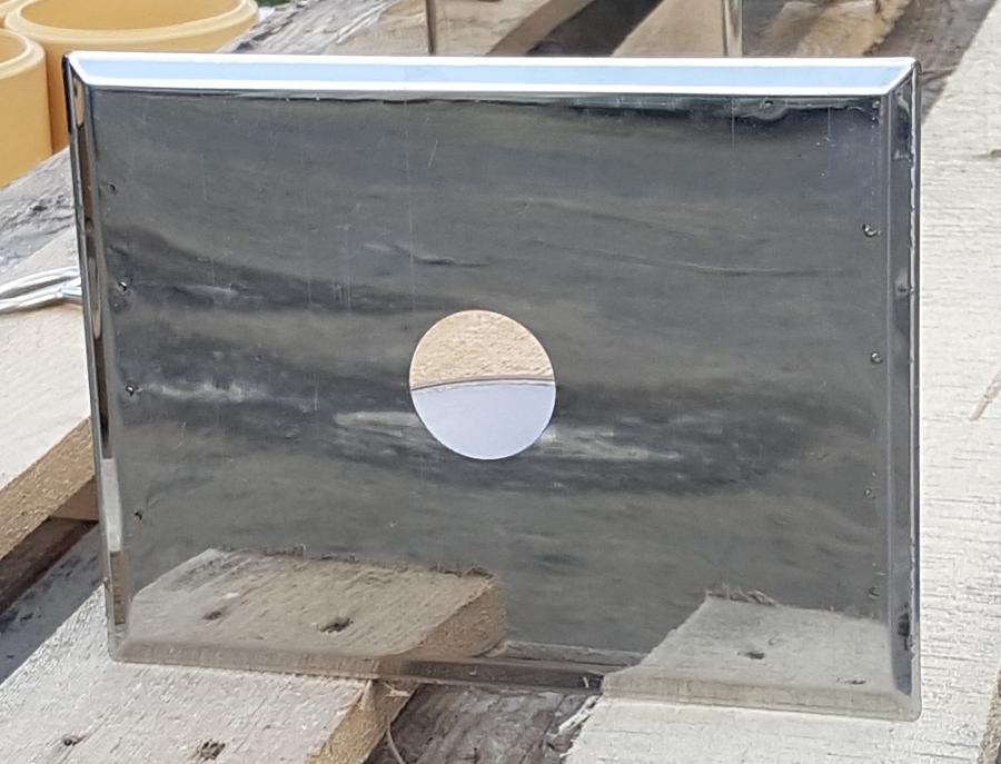 Przesłona skraplacza Kratka wentylacyjna komin ceramiczny system kominowy