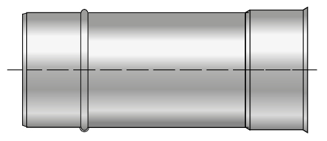 Rura żaroodporna wkład żaroodporny komin