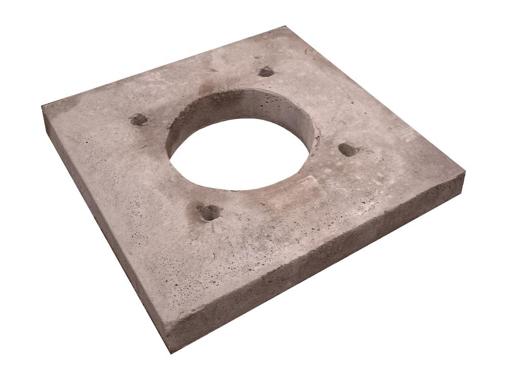 Płyta podporowa wspornikowa kominowa komin ceramiczny system kominowy