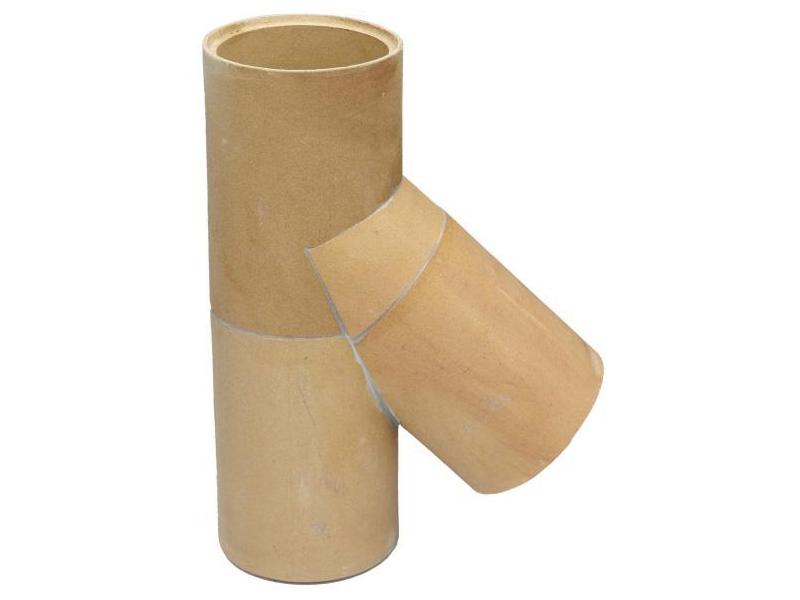 Trójnik ceramiczny komin ceramiczny system kominowy