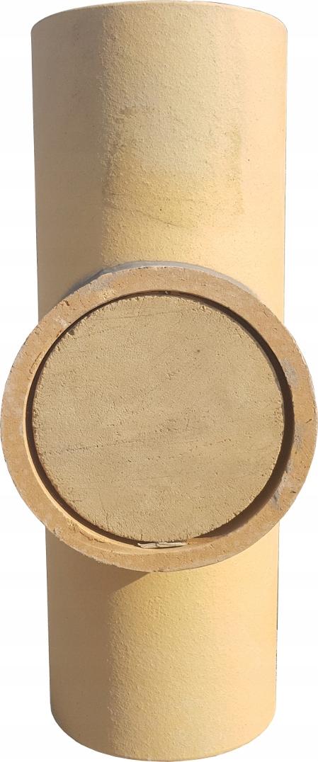 Zaślepka trójnika komina ceramicznego systemowego