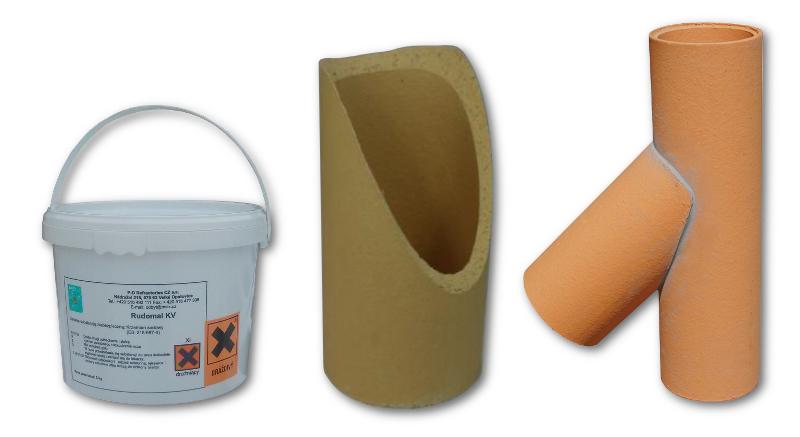 wklejka trójnik ceramiczny zestaw naprawczy trójnika komina
